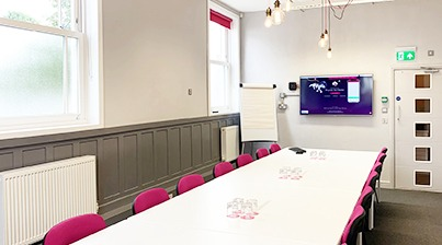 Product launch room hire Nottingham
